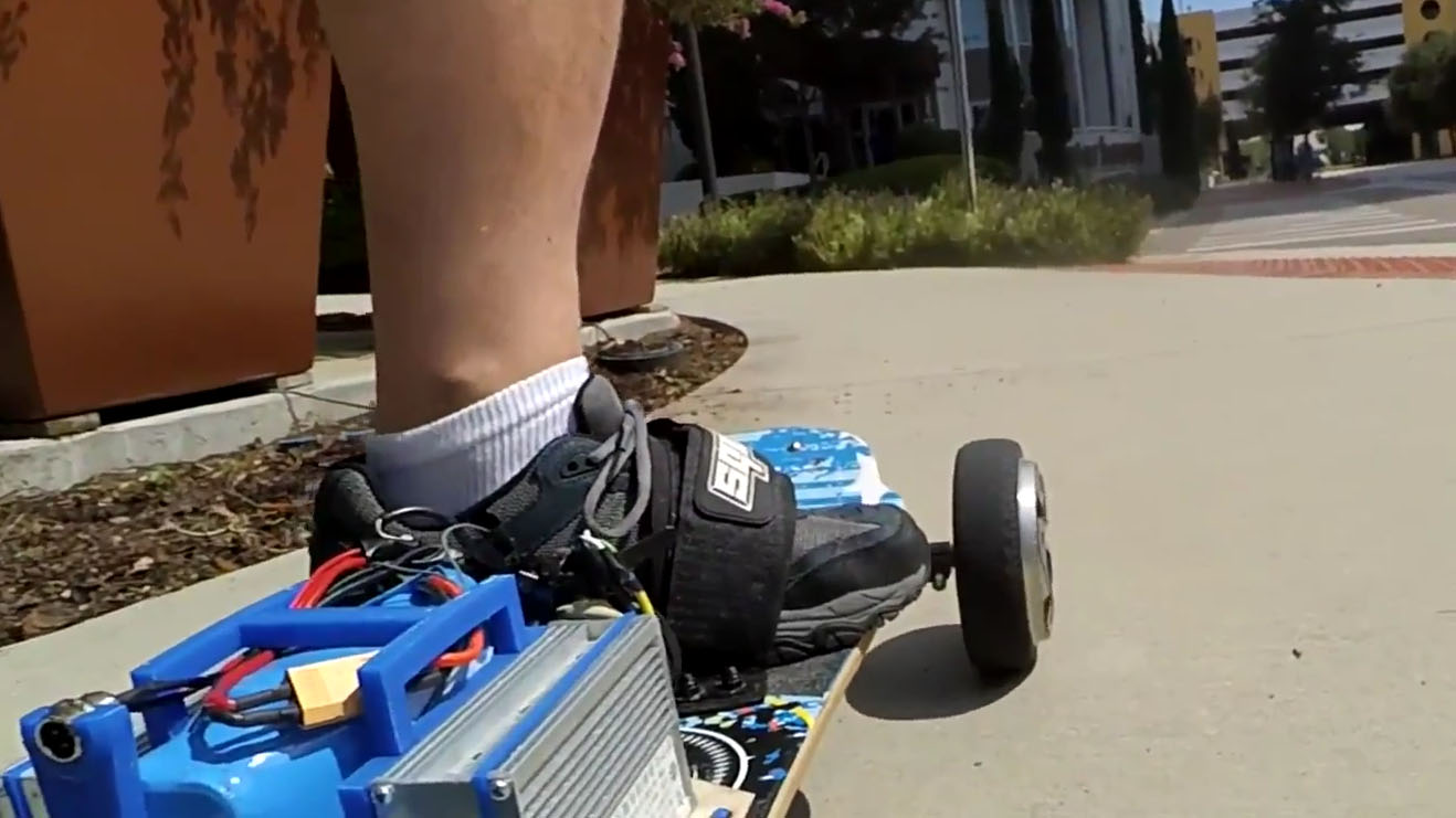 Convert a Broken Hoverboard to an Electric Mountainboard