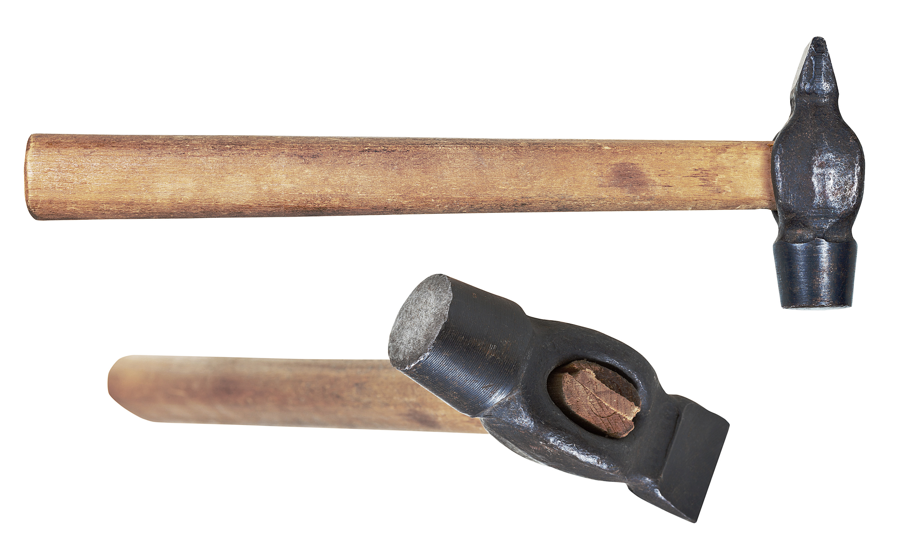 types of antique hammers. two views of a cross-peen hammer. types antique hammers