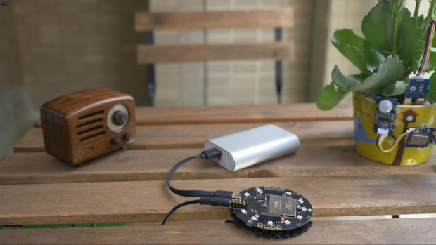 Seeed produces the ReSpeaker, a voice-control extension.