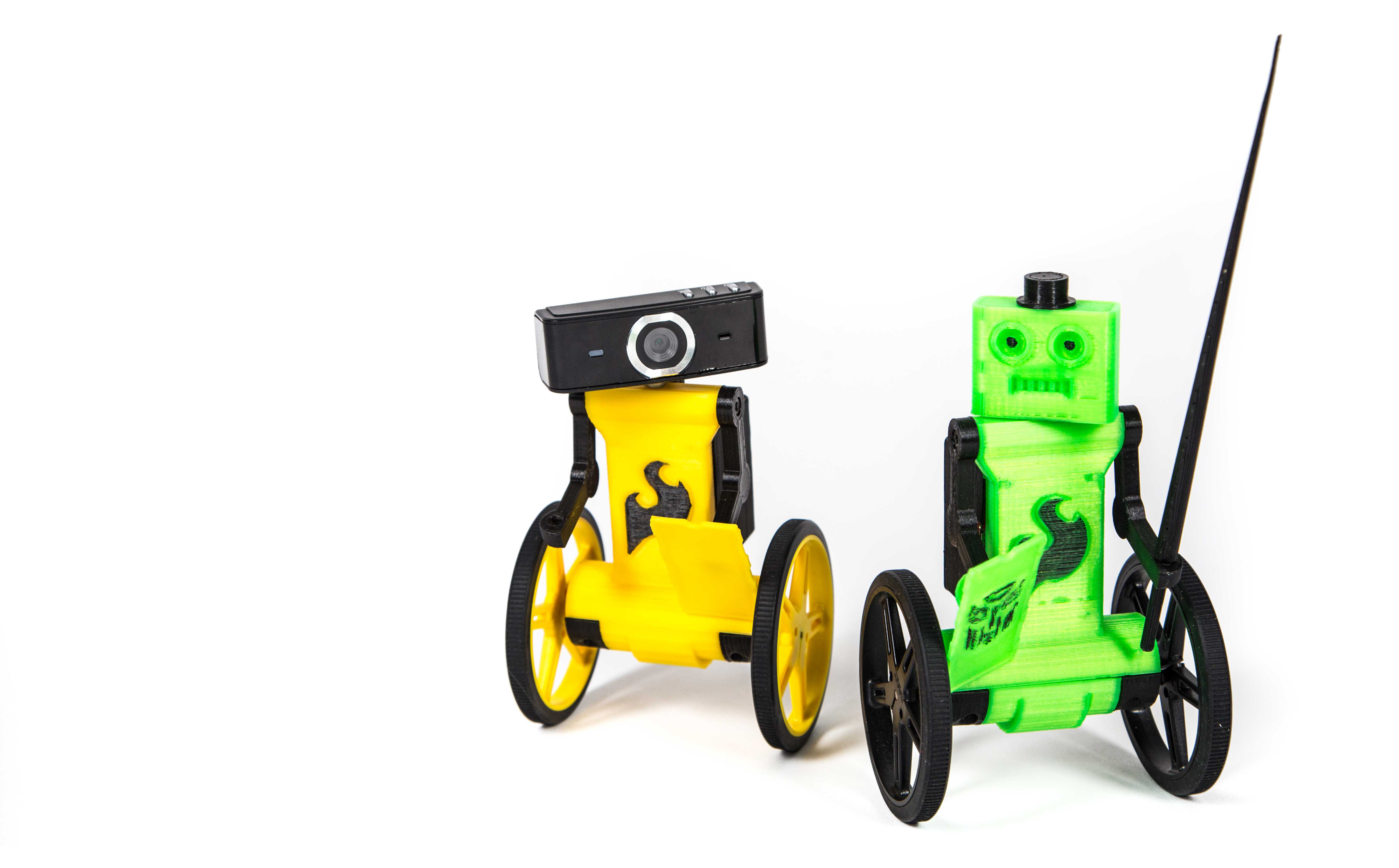 Build And Drive This Adorable Fpv Balance Bot Make Wiringpi Lcd Tutorial