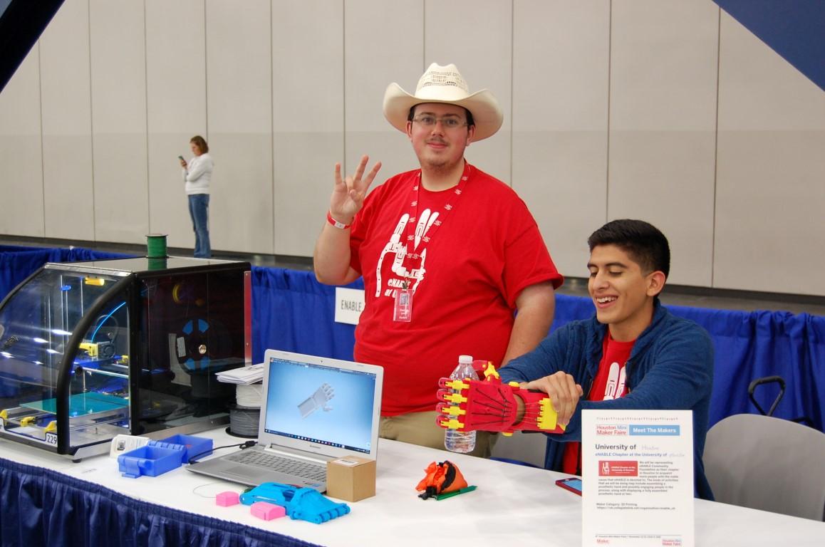 Power Up Houston at Houston Mini Maker Faire