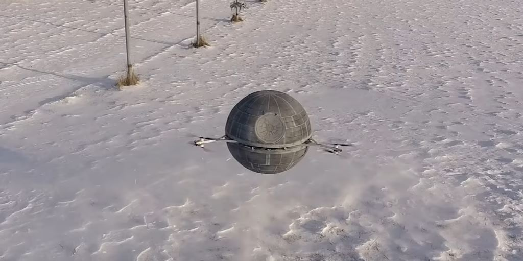 That's No Moon! That's a Death Star Drone
