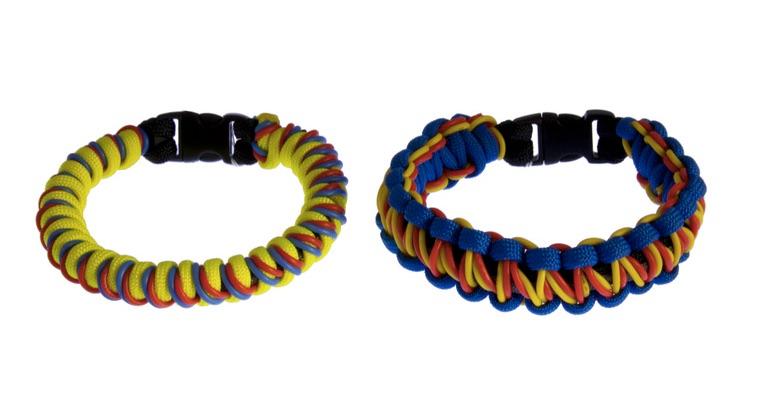 Geek Paracord Electronic Survival Bracelets