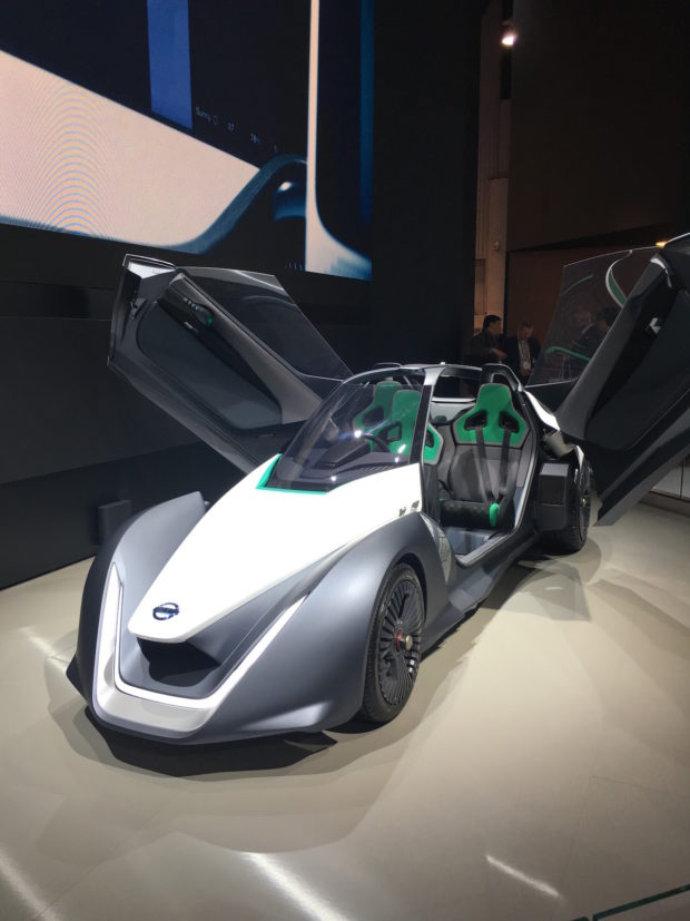 An almost insect-like, super futuristic design from Nissan.