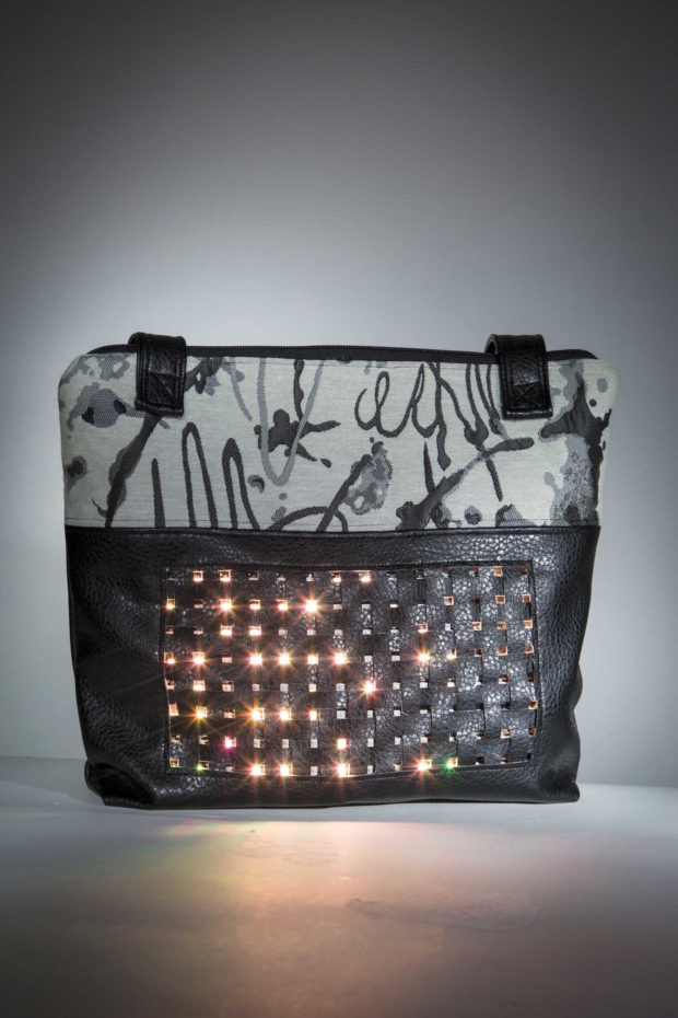 Sew a Custom Handbag with a Built-In LED Matrix | Make: