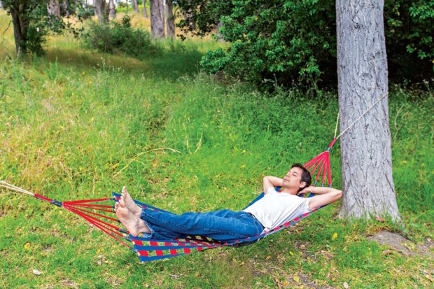 Stick Together a Durable Duct Tape Hammock