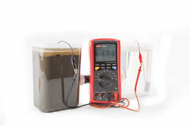 Generate Electricity from Bacteria in Mud