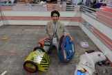Engineering student Aziz AlThekqir loves BattleBots, eagerly looking for more information on refining his wooden builds and looking for more enthusiasts to help build a league with him.