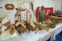 Another model boat maker, from the Kuwaiti island of Ikaros.