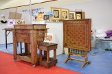 Traditional furniture from local makers.