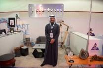 "Furniture maker Ahmed Alsenai, who explains he's a banker ""to finance my hobby."""