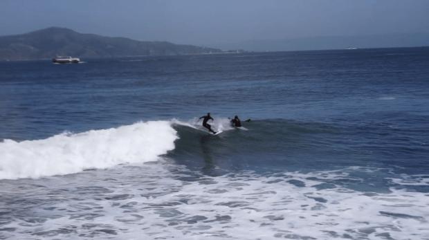 surfing. gathering data