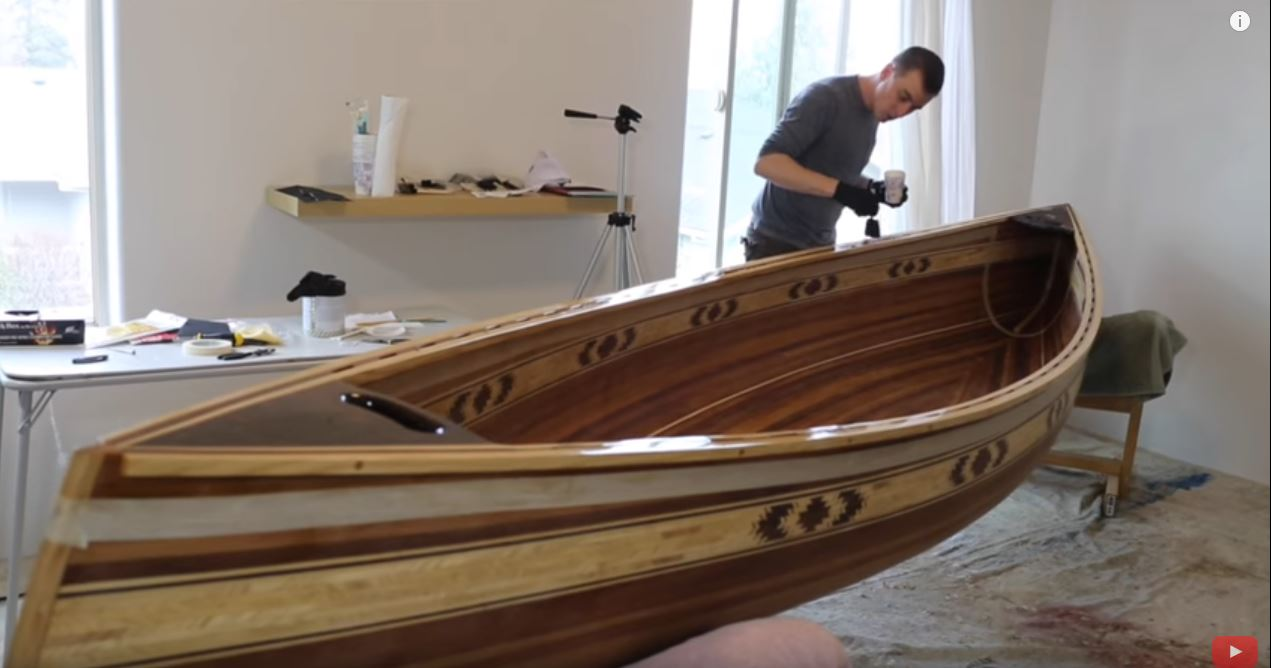Weekend Watch: 8 Months To Build a Gorgeous Cedar Canoe