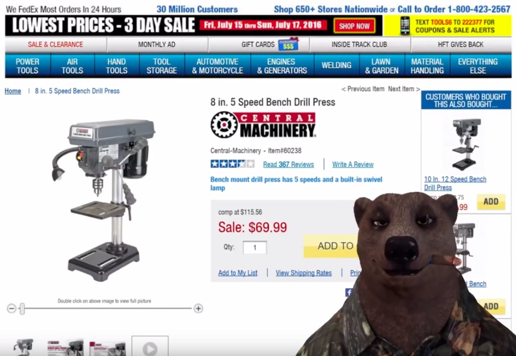 Don't Hate on the Harbor Freight | Make: