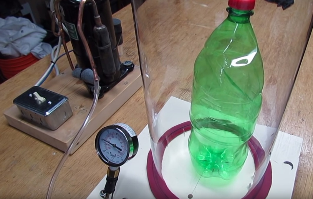Build Your Own Vacuum Chamber for Under