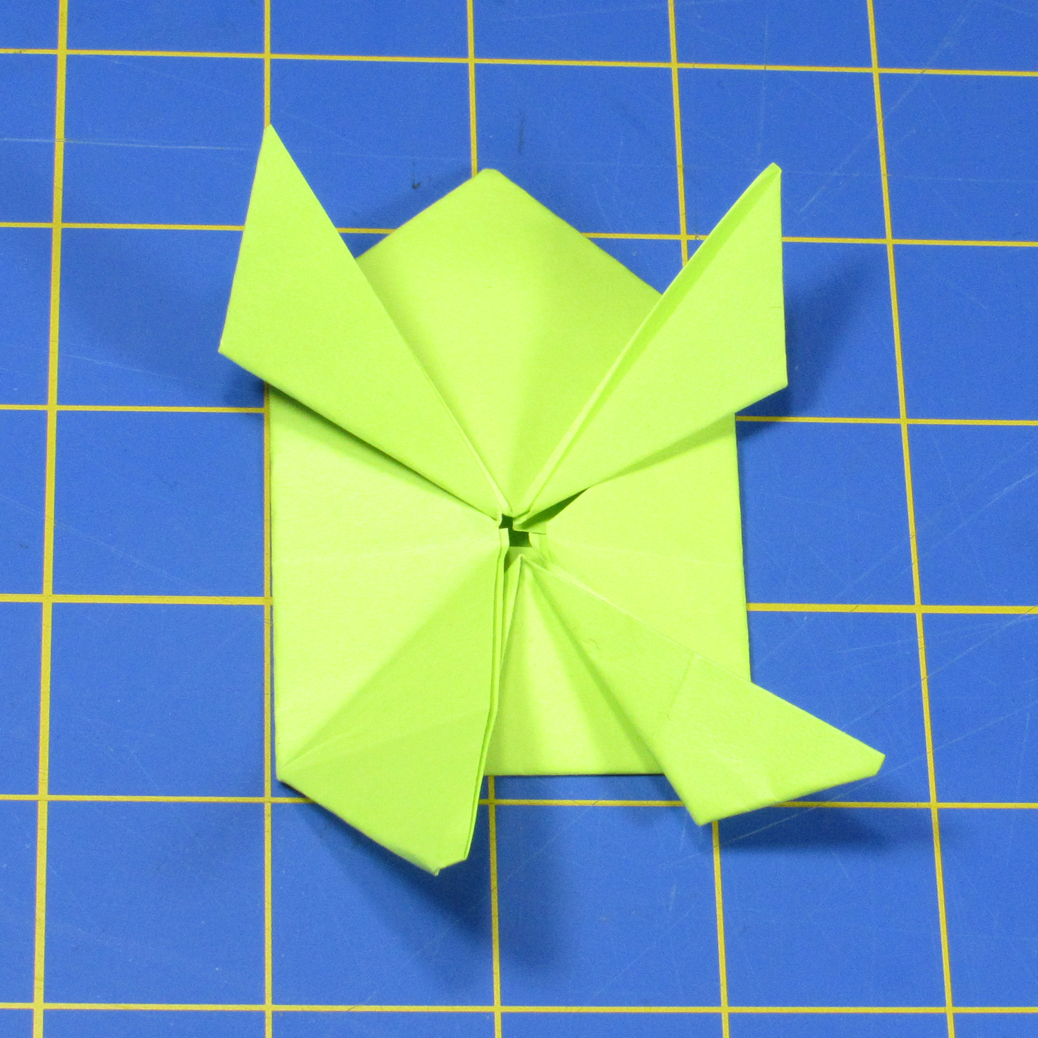 Fold Up A Jumping Origami Frog With Led Eyes Make
