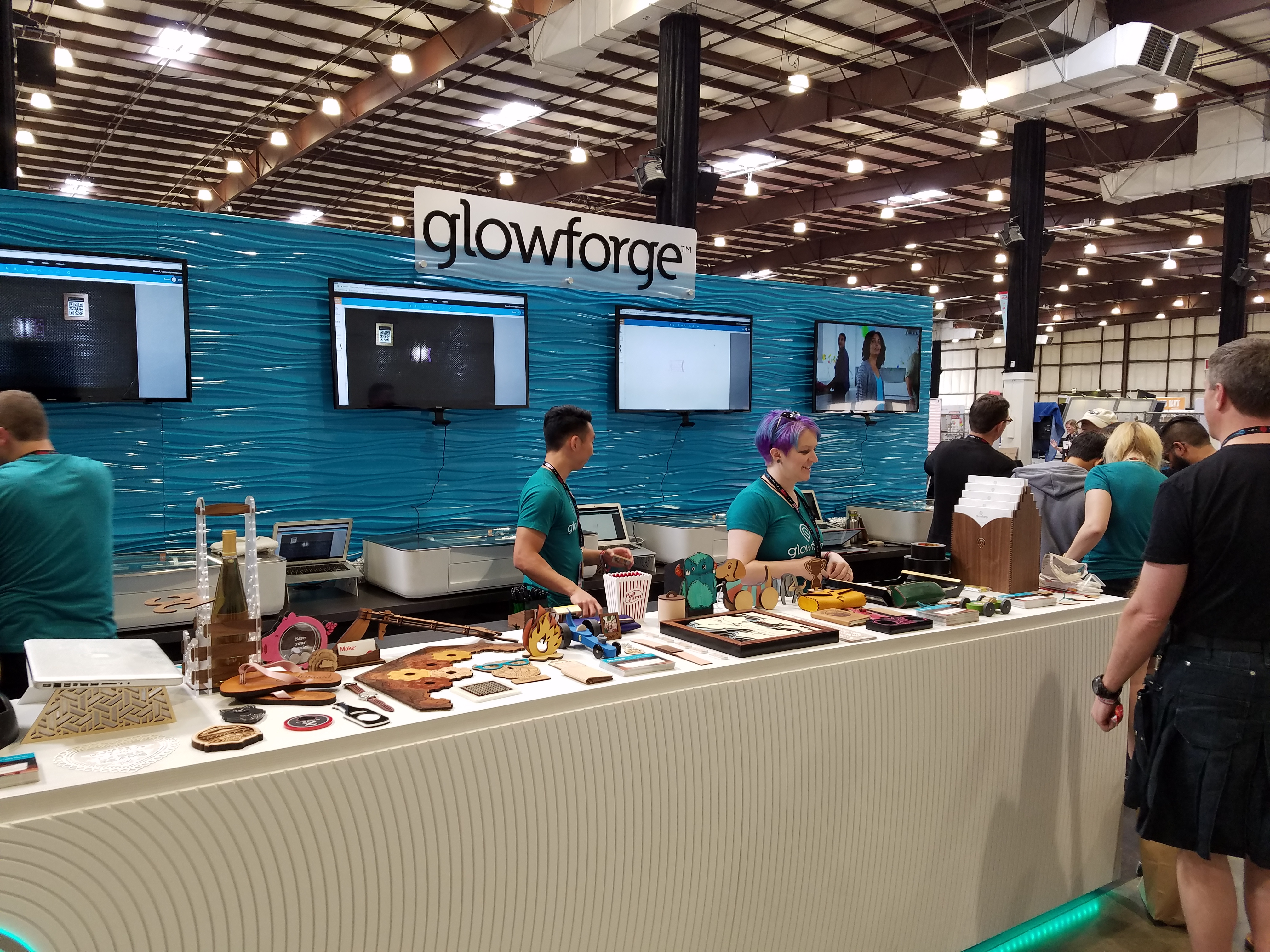 Glowforge Has Come To Maker Faire With News