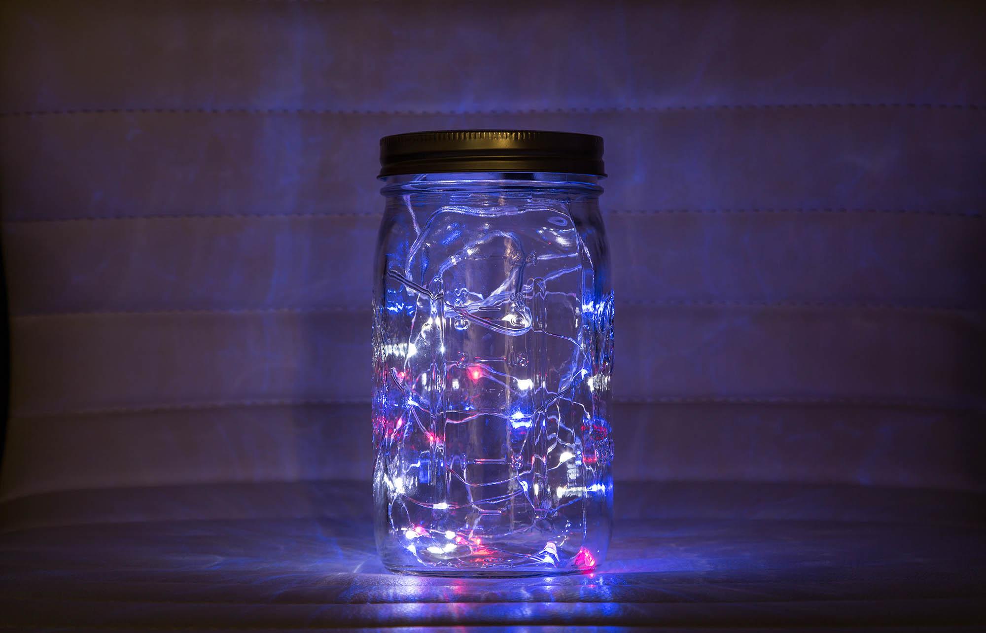 Solder Together A Fairy Lights Mason Jar Make Making Parts And Wiring Supplies Craft Lighting Kits Night Light