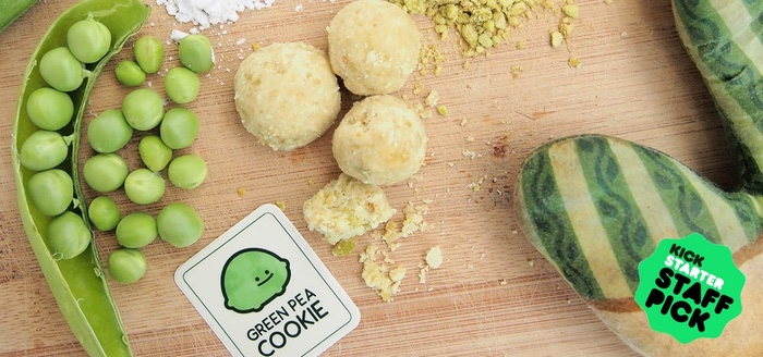 Edible Innovations: Green Pea Cookies Are a Healthy Way to Snack
