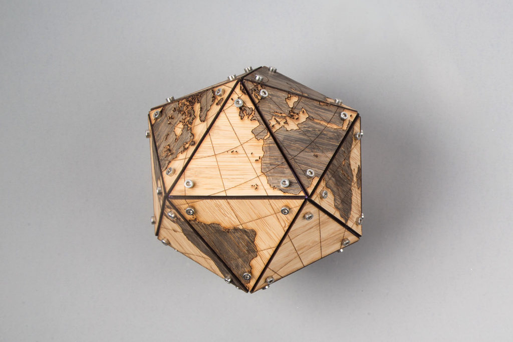 Laser Cut a Dymaxion Globe for an Accurate View of the World