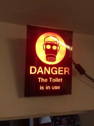 Bathroom occupied notification