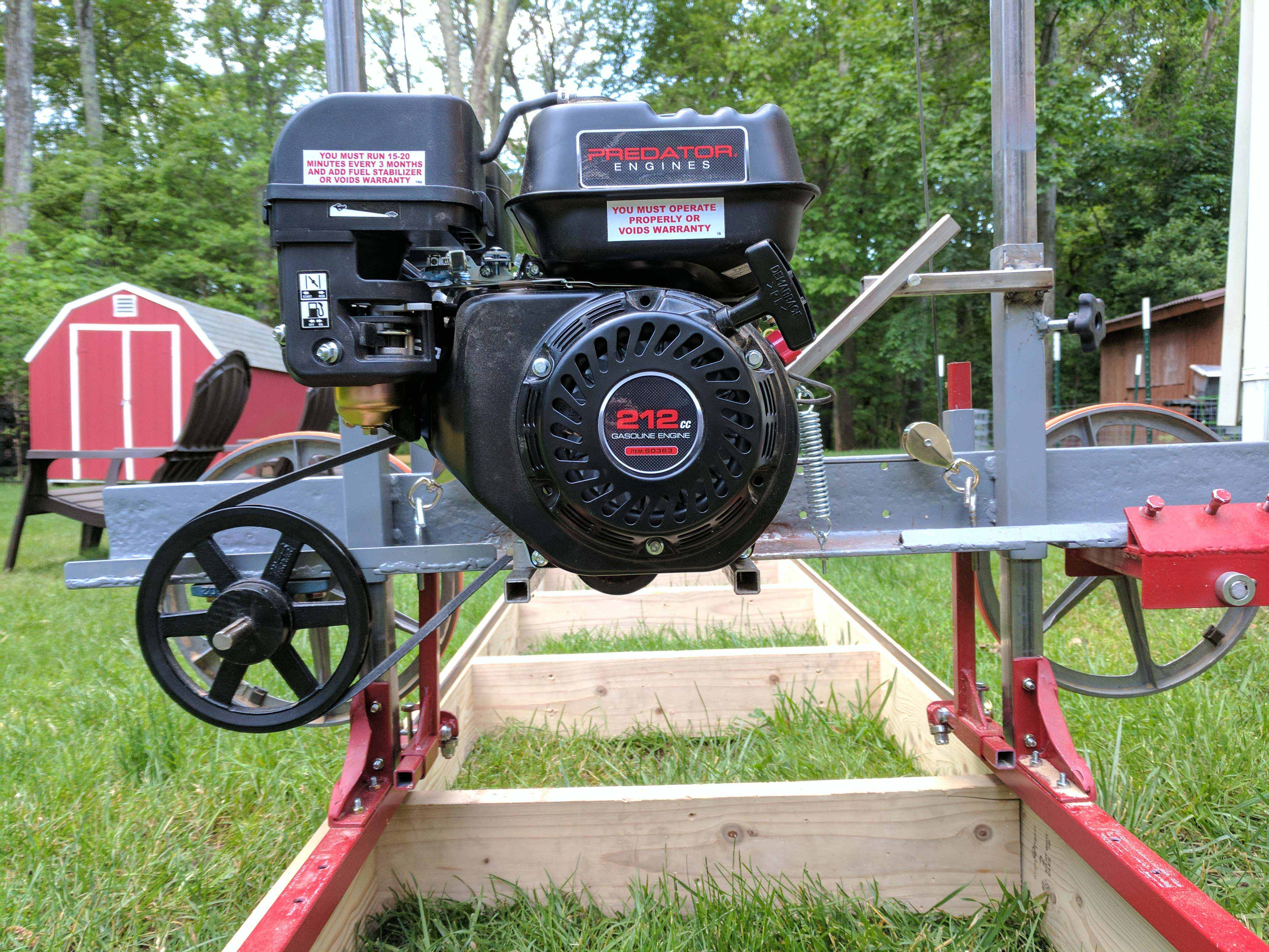 How I Built a Sawmill in the Backyard