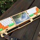 "This Custom Built ""Commute Deck"" Makes it Easy to Work on the Go"