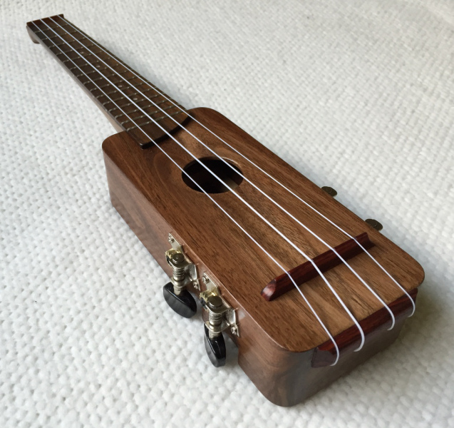 This Unique Ukulele Is Scratch-Built From a Felled Tree