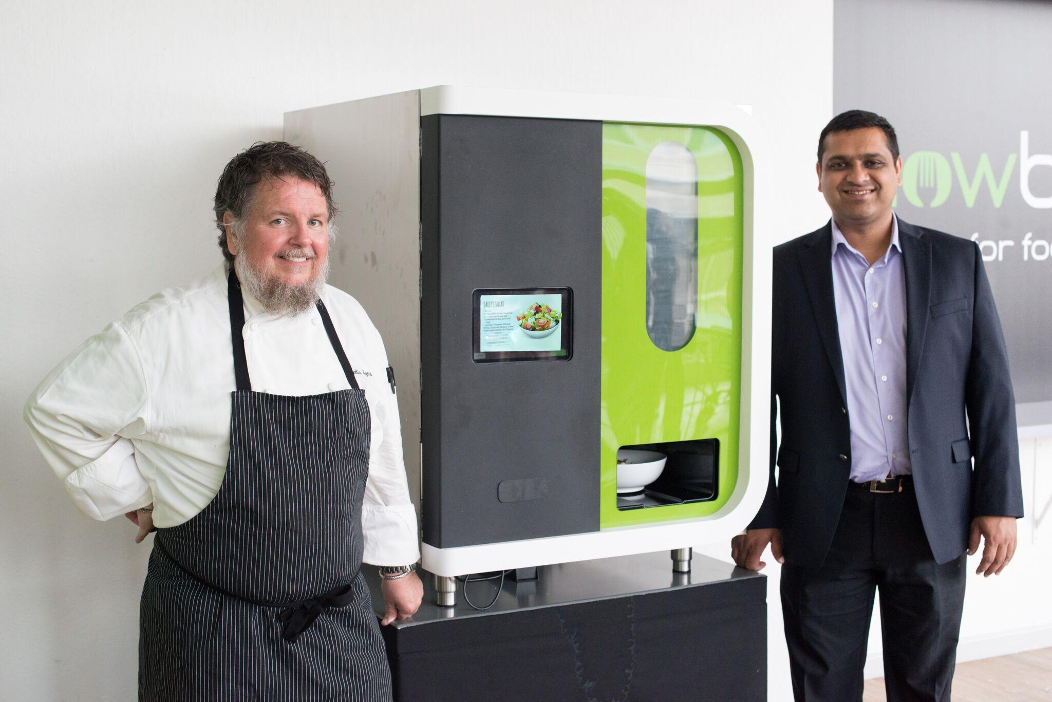 Edible Innovations: Meet Sally, a Salad-Making Robot