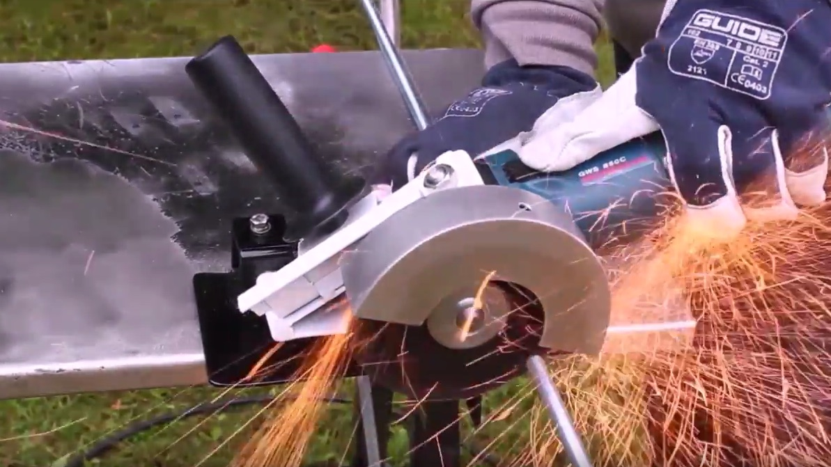Turning an Angle Grinder into a Multitool