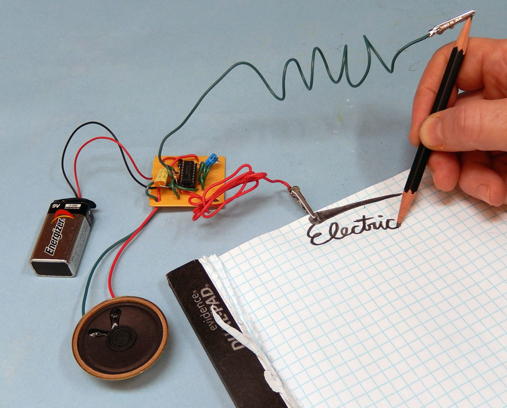 Build an Electronic Audio Game with a Pencil, Paper, and Conductive ...