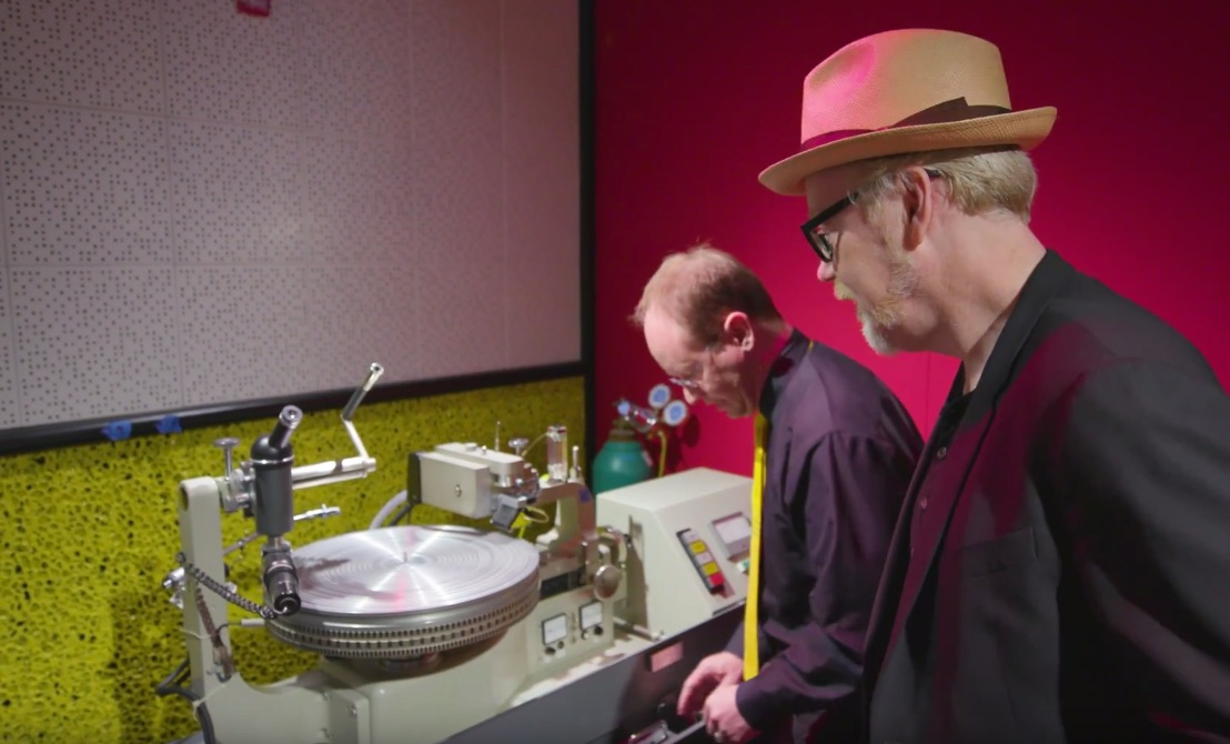 Adam Savage Nerds Out Over Vinyl Record-Making with Jack White