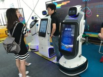 "Crazy humanoid info-robots called ""AI Everywhere"""