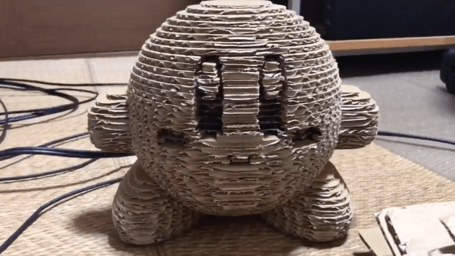 This Week in Making: Cardboard Kirby, 3D Printed Google Glass Headset, and More