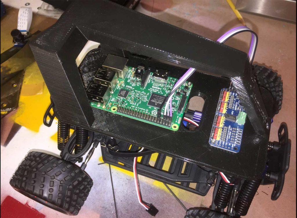 Build an Autonomous R/C Car with Raspberry Pi | Make: