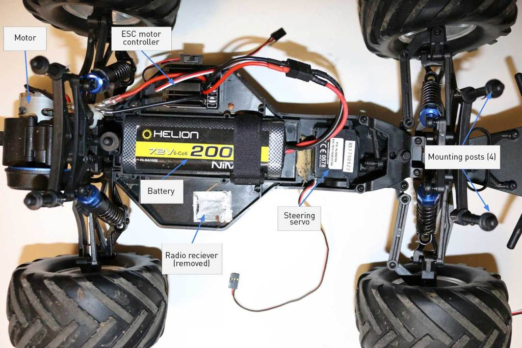 Build an Autonomous R/C Car with Raspberry Pi | Make: on mo car, california high patrol car, this car, mb car, cv car, ml car, eg car, lt car, rs car, cu car, master p car, sv car, bobby shmurda car, bf car, gb car,