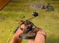Another one of my finished Blood Bowl Skaen team. This guy is a thrower.