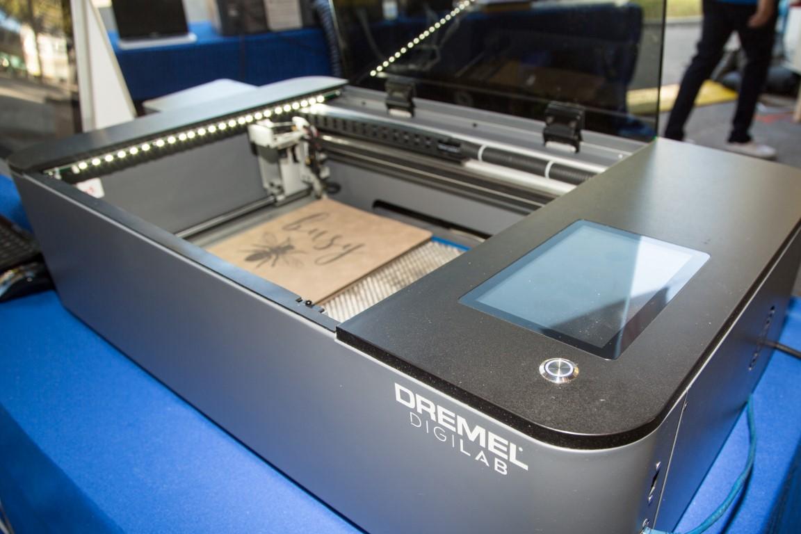 Dremel Announces 40 Watt Laser Cutter