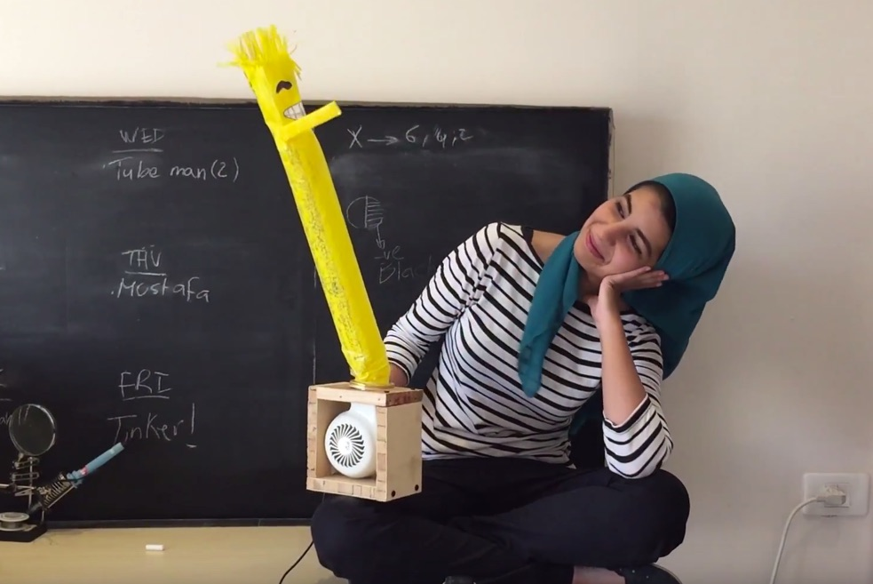 Weekend Watch: Tinkering and Stop Motion with Dina Amin