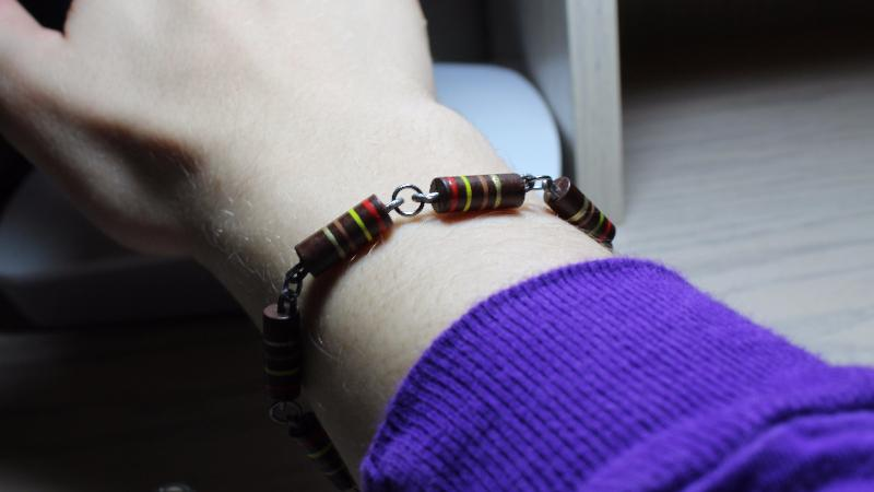 Reuse Old Resistors as Jewelry Charms