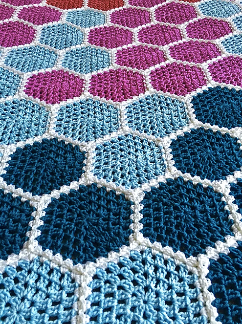 Crochet Your Own Climate Change Data Visualization Blanket