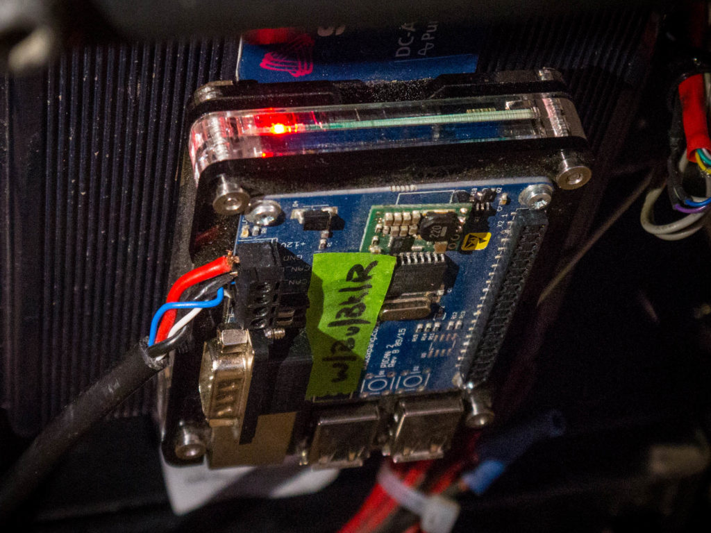 Fighting Bots Pinball Emulators And More At Maker Faire Denver Police Lights Circuit Electronic Circuits Pinterest Most Electric Wheelchairs Operate On The Canbus Protocol Adopted From Similar Systems Automobiles As It Turns Out Is Notoriously Insecure