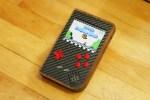 Raspberry PiBoy Mixes Walnut, Carbon Fiber, and Retro Gaming