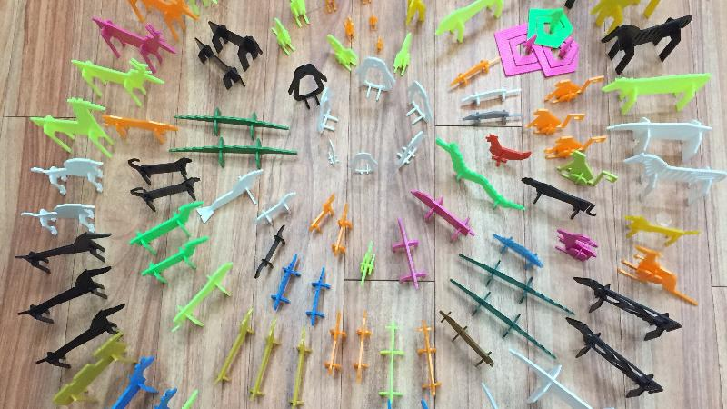 Build Your Own Zoo with a Colorful Assortment of 3D Printed Animals