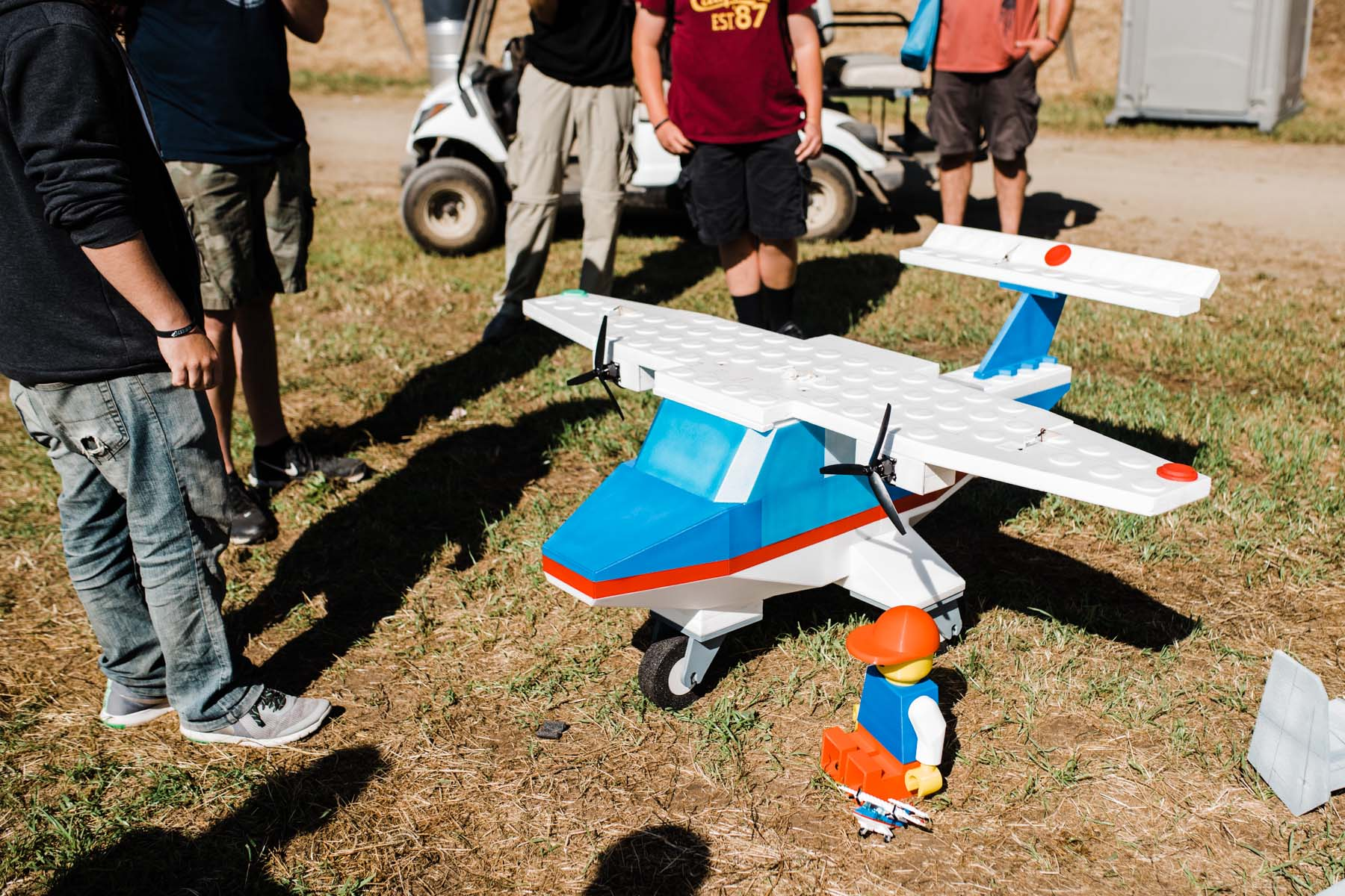 This Lego R/C Creation Is Just Plane Cool
