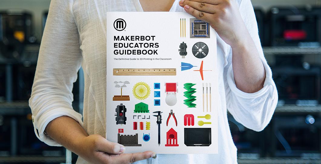 MakerBot Releases Educator's Guidebook for 3D Printing