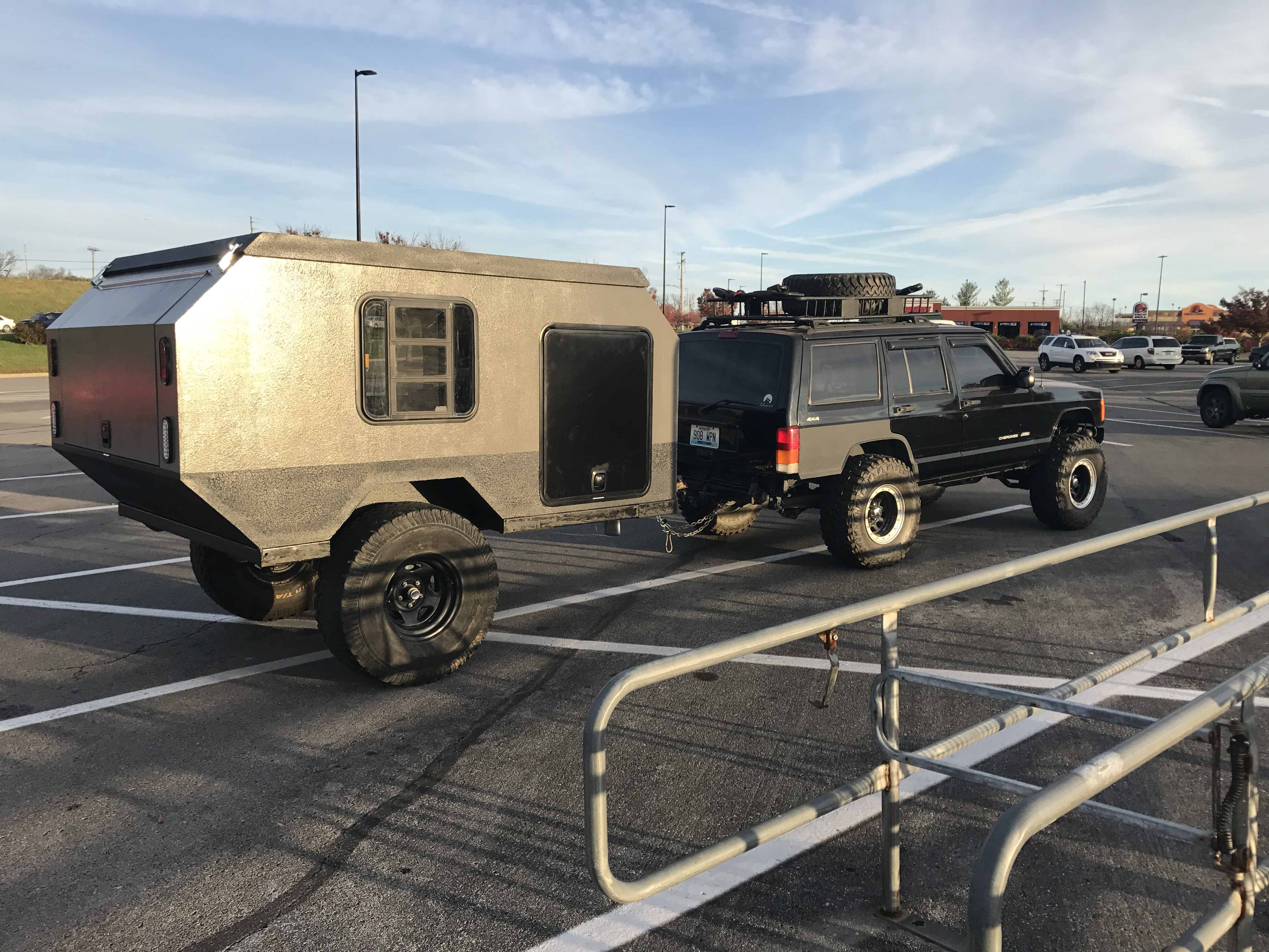 The Foxtail is a Teardrop Camper on Steroids