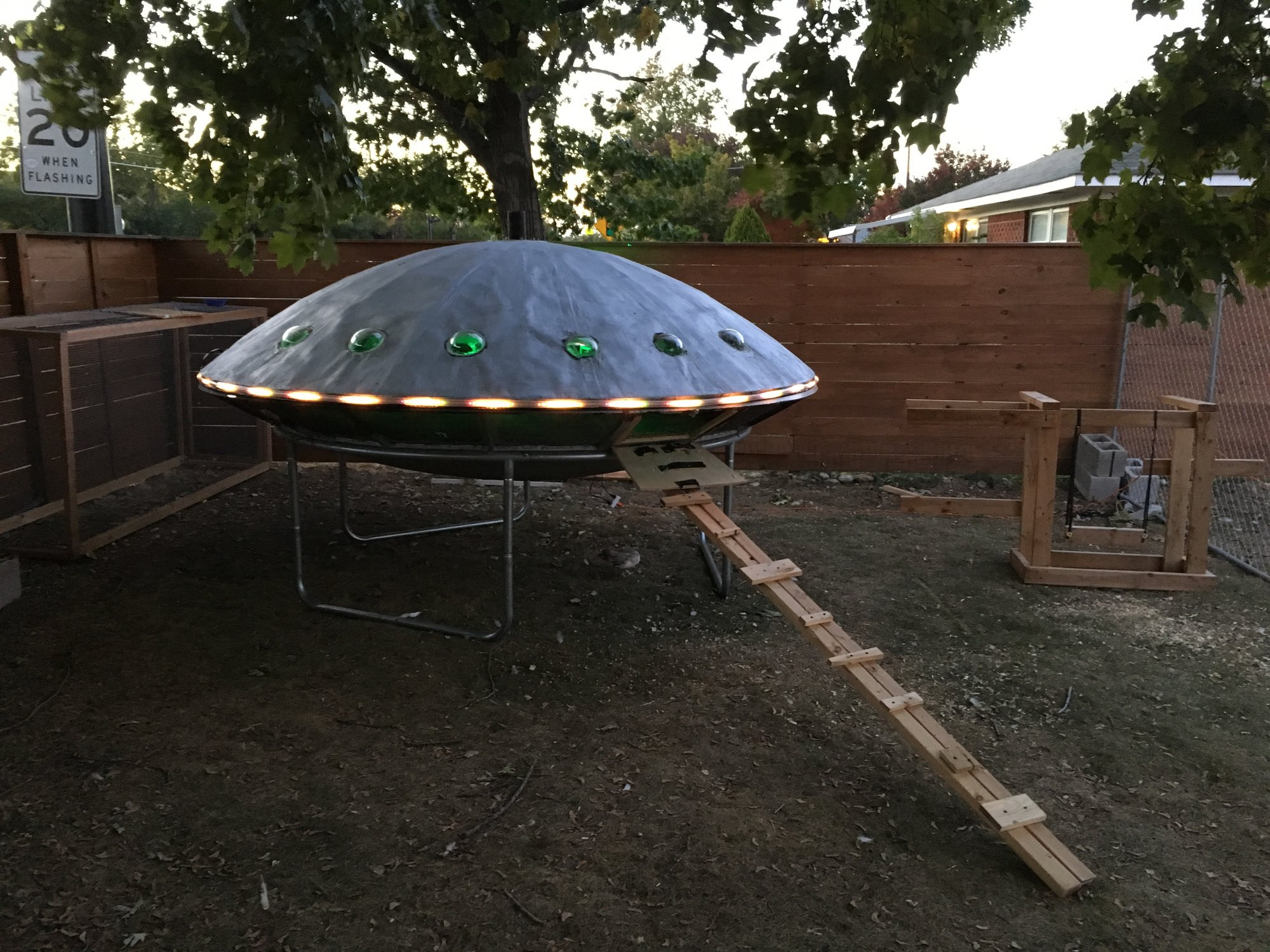UFO Chicken Coop is Out of this World Wonderful