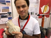 A University research project around measuring erosion with sensors (including this one embedded in rock) to measure rock movement and sand displacement