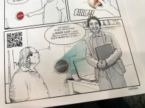 Maker Faire Rome curator Alessandro Ranellucci appears in a very cool comic book put out by WASP, an Italian 3D printer company